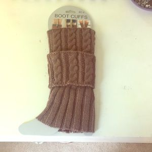 Shoes - Brown Boot Cuffs
